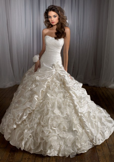 Mori Lee Angelina Faccenda 1228 Wedding Dress