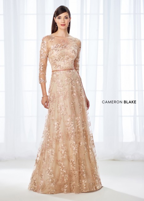 Cameron Blake 118682 A-line Mother of Bride Dress