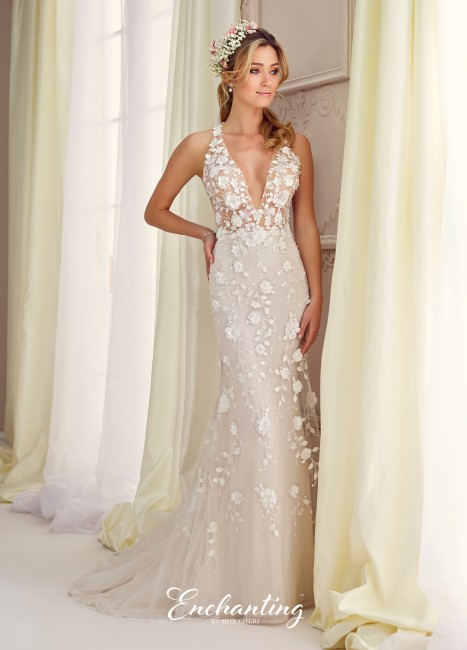 Enchanting by Mon Cheri 217109 Wedding Dress