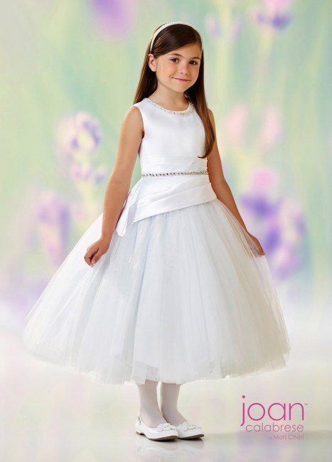 Joan Calabrese 118317 Tulle Skirt Flower Girl Dress