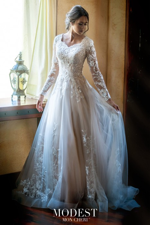 Modest Bridal by Mon Cheri - Dress Style TR11972