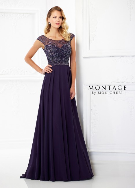 Montage by Mon Cheri 118981 A-line Mother of Bride Dress