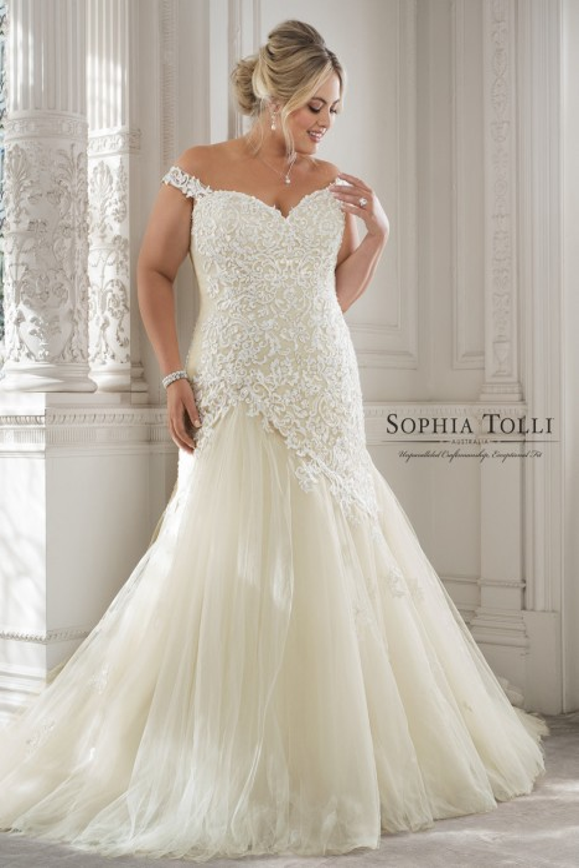 Sophia Tolli - Dress Style Y11884ZB Eleni