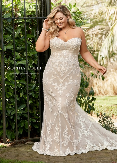 Sophia Tolli - Dress Style Y11946BLB Bridget Grace