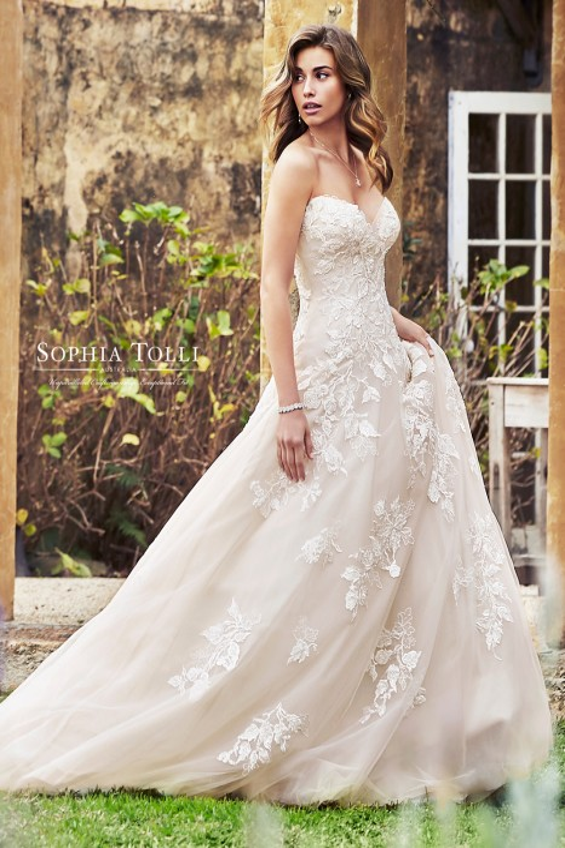 Sophia Tolli - Dress Style Y11953ZB Ember