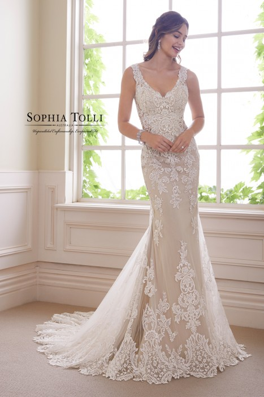 Sophia Tolli - Dress Style Y21819 Ametrine