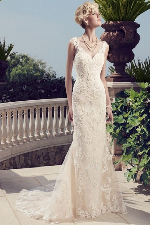 Casablanca Bridal 2155 Wedding Dress