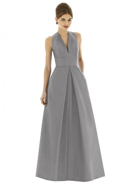Alfred Sung D611 Bridesmaid Dress