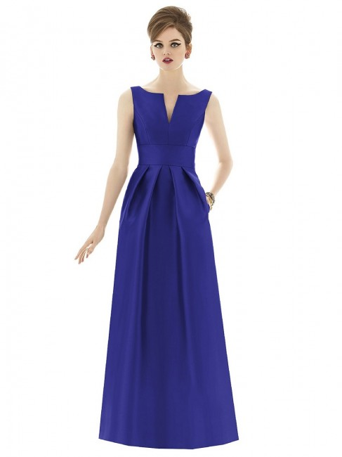 Alfred Sung D655 Quick Delivery Bridesmaid Dress