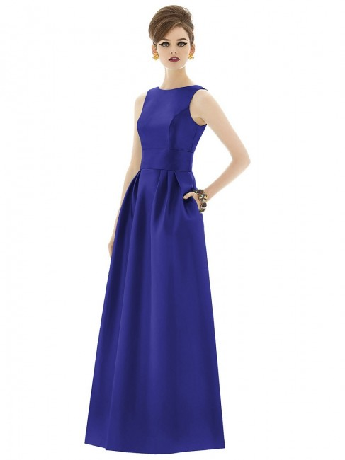 Alfred Sung D661 Bridesmaid Dress
