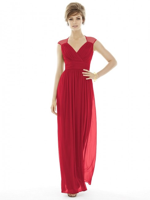 Alfred Sung D693 Bridesmaid Dress