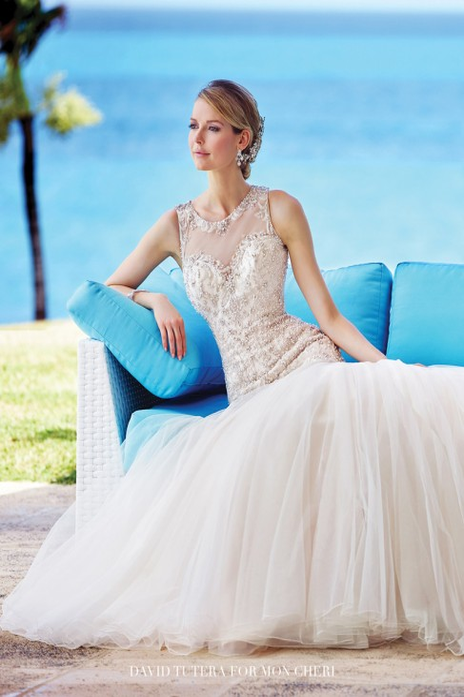 David Tutera 216240 Neela Wedding Dress