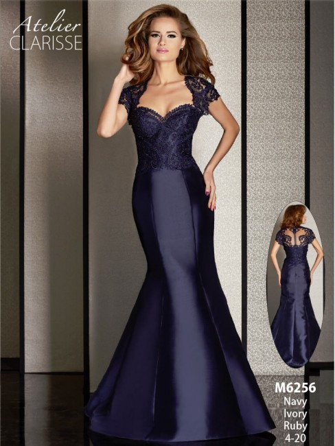 Atelier Clarisse M6256 Dress Sweetheart Bust Illusion Back Mermaid Silhouette