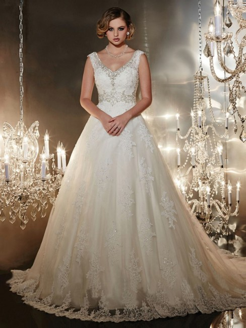 Christina Wu 15542 Wedding Dress