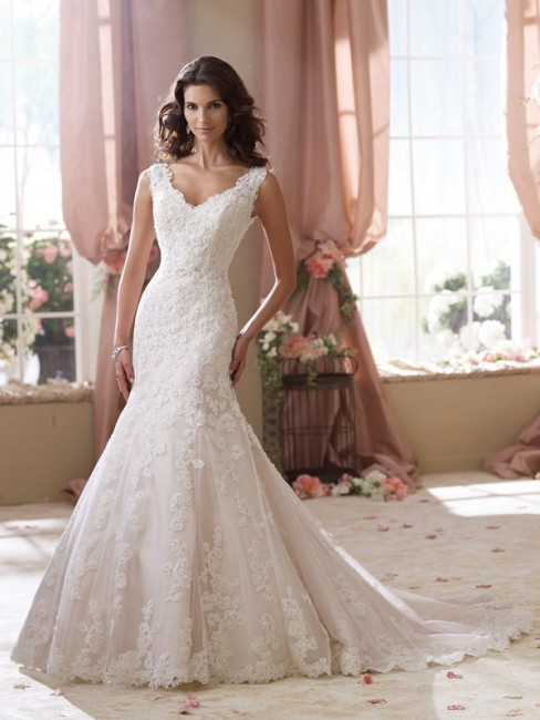 Martin Thornburg for Mon Cheri 114271 Sybil Wedding Gown