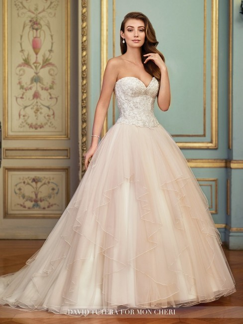 Martin Thornburg for Mon Cheri 117285 Aurinda Wedding Dress