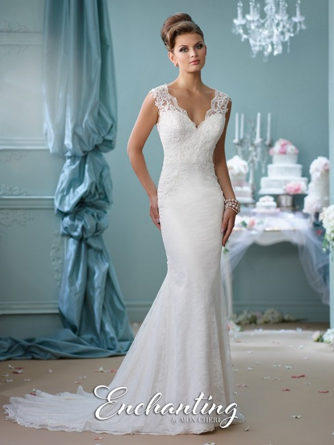 Enchanting by Mon Cheri 116132 Wedding Dress