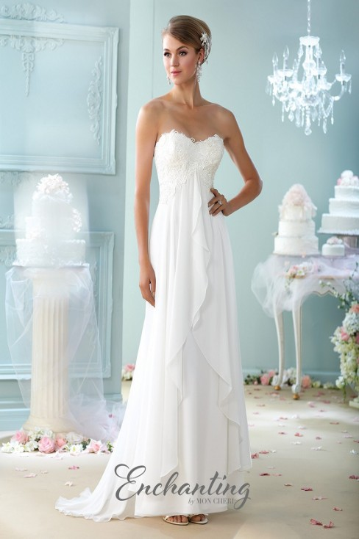 Enchanting by Mon Cheri 215108 Wedding Dress