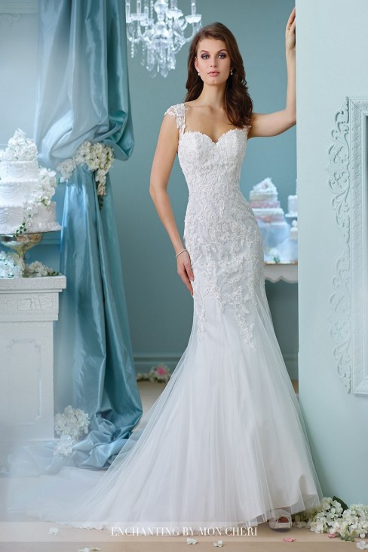 Enchanting by Mon Cheri 216156 Wedding Dress