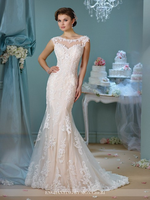 Enchanting by Mon Cheri 216159 Wedding Dress