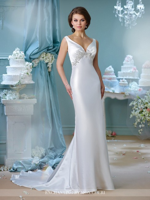Enchanting by Mon Cheri 216165 Wedding Dress