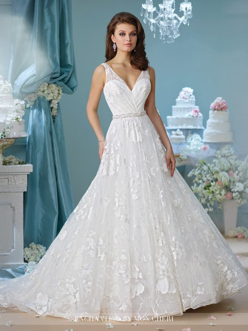 Enchanting by Mon Cheri 216167 Wedding Dress