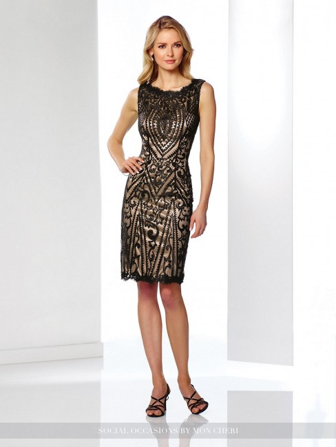 Social Occasions by Mon Cheri 216871 Dress