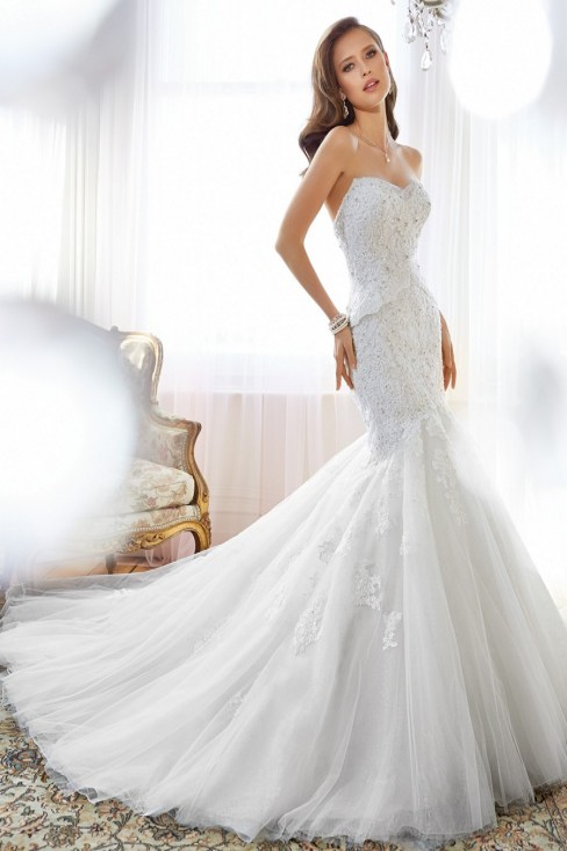 Sophia Tolli Y11553 Adelie Wedding Dress