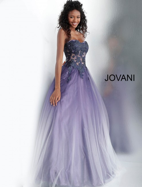 classic shoes hot-selling professional how to serch Jovani 67108 Corset Top Prom Dress