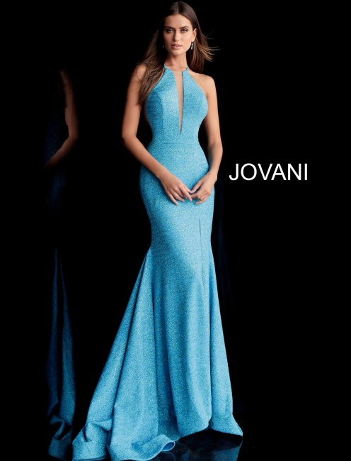 Jovani 67563 Racerback Long Party Dress