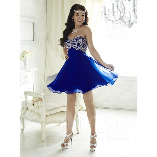 House of Wu 52385 Damas Dress