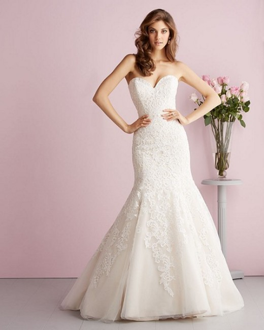 Allure Bridals 2709 Wedding Dress