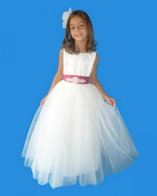 RoseBud 5123 Flower Girl Dress