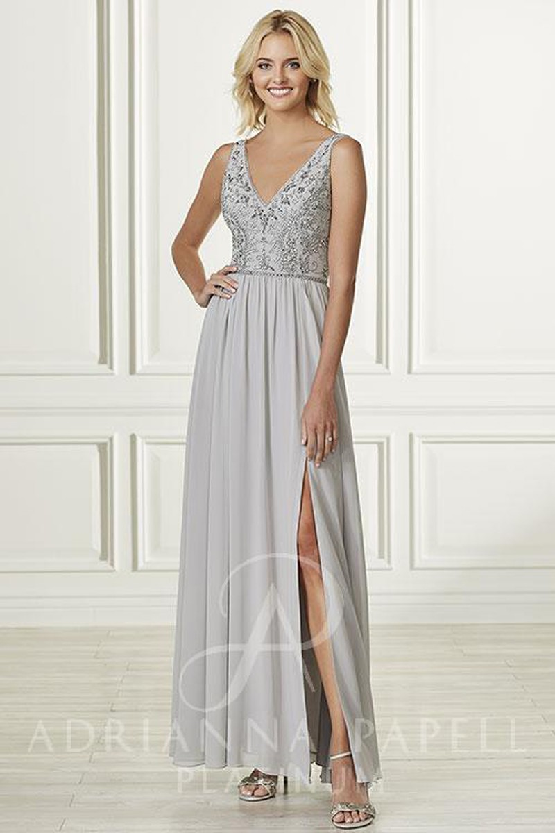 Adrianna Papell 40163 Dress Madamebridal Com