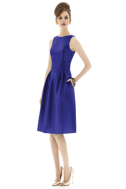 Alfred Sung D660 Bridesmaid Dress | MadameBridal.com