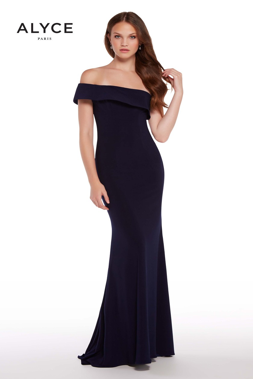 Alyce Paris 59997 One-Shoulder Prom Dress | MadameBridal.com