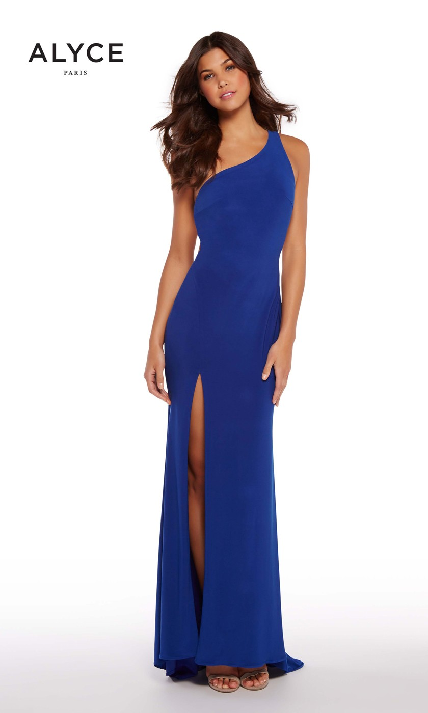 Alyce Paris 60010 One-Shoulder Prom Gown
