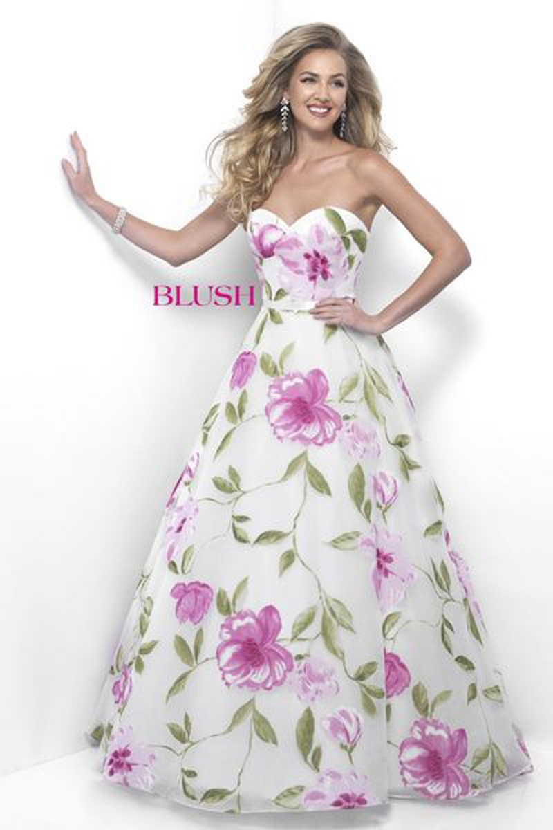 Blush Ballgown 5621 Prom Dress