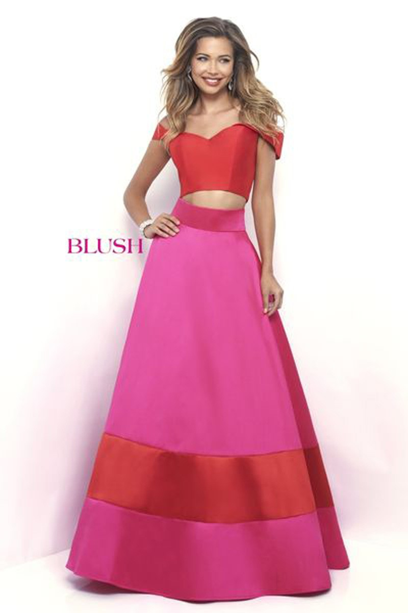 Blush Ballgown 5623 Prom Dress