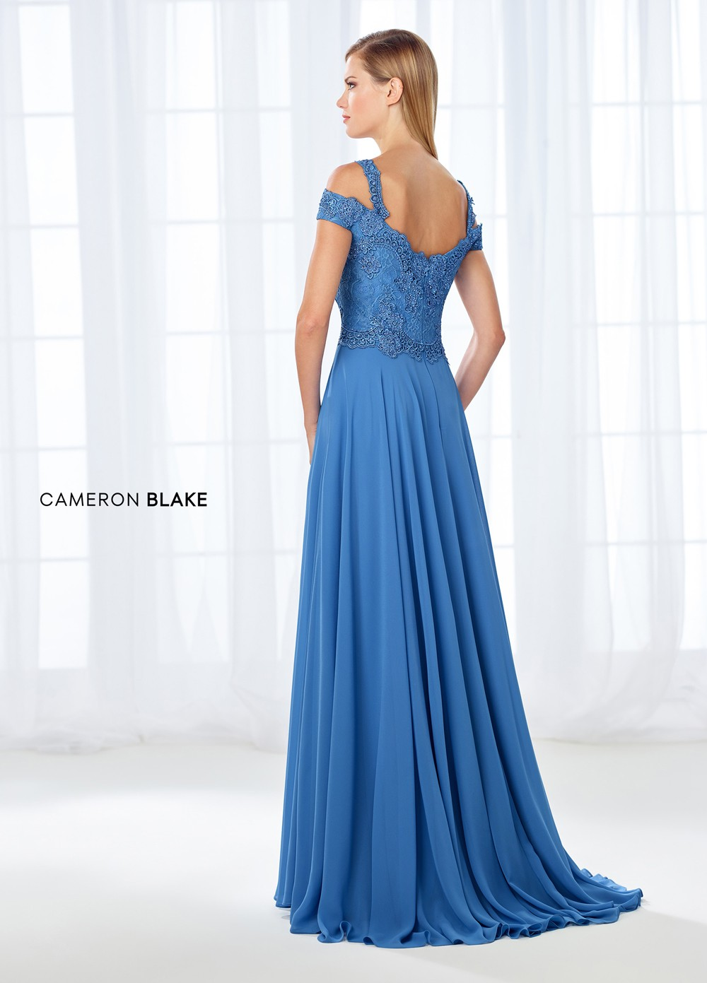 Cameron Blake 118683 Cold-Shoulder Mother of Bride Dress ...