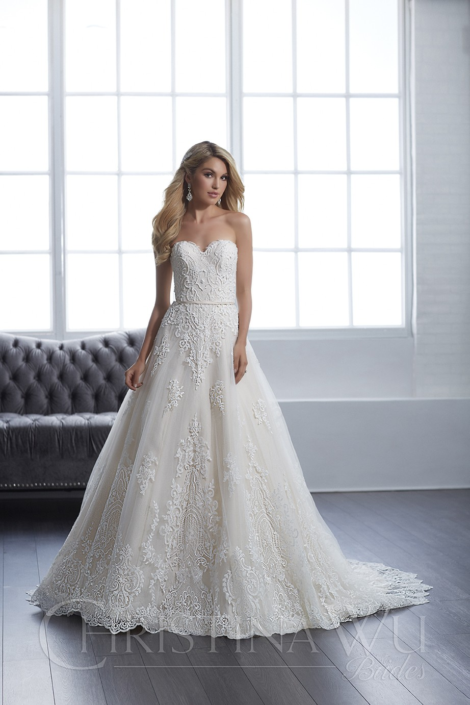 Christina Wu 15659 Dress - MadameBridal.com