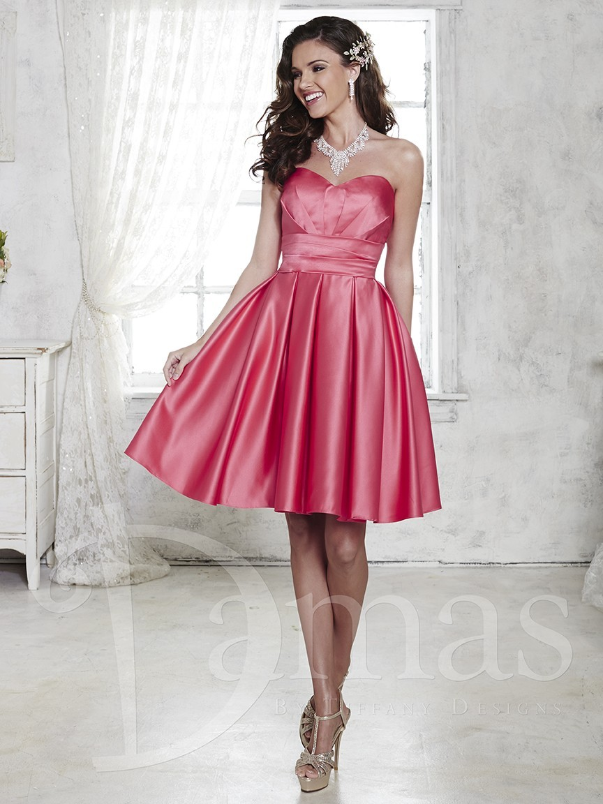 House Of Wu Damas 52362 Quick Delivery Bridesmaid Dress
