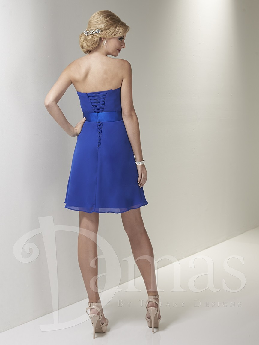 House Of Wu Damas 52367 Quick Delivery Bridesmaid Dress