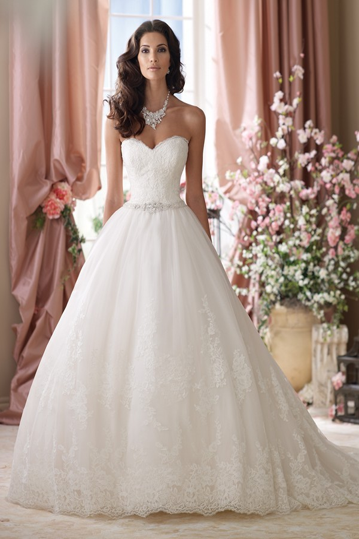 Martin Thornburg for Mon Cheri 114289 Vera Wedding Gown ...