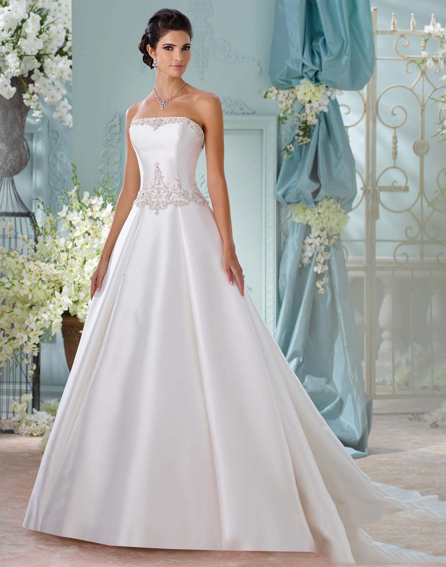 Martin Thornburg for Mon Cheri 116223 Selena Wedding Dress ...