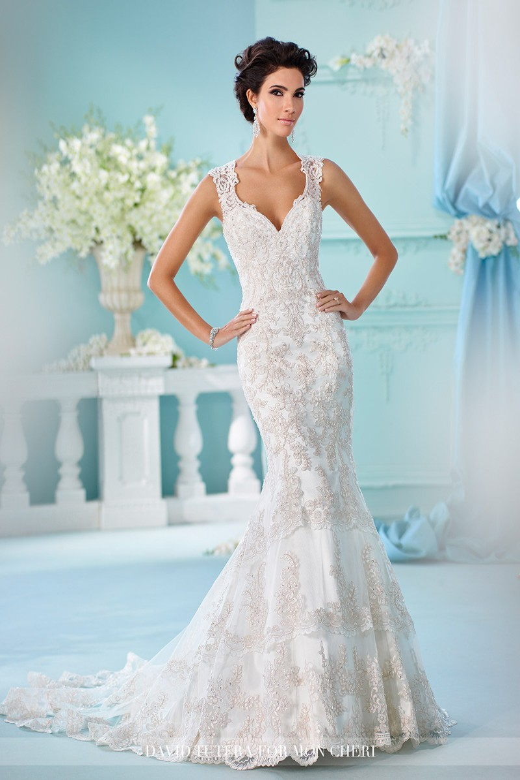 Martin Thornburg for Mon Cheri 216246 Nerida Wedding Gown ...