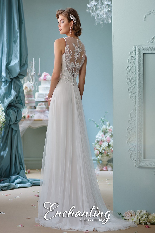 Enchanting By Mon Cheri 116124 Wedding Dress