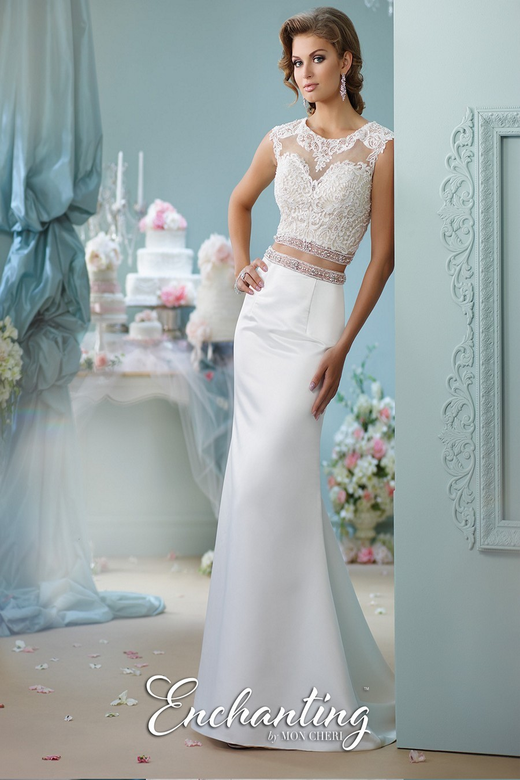 Enchanting by Mon Cheri 116131 Wedding Dress | MadameBridal.com