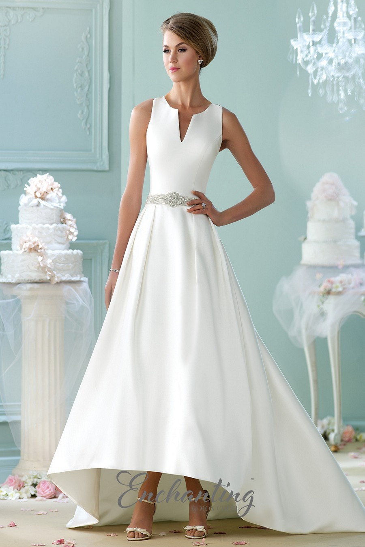 Enchanting by Mon Cheri 215101 Wedding Dress | MadameBridal.com