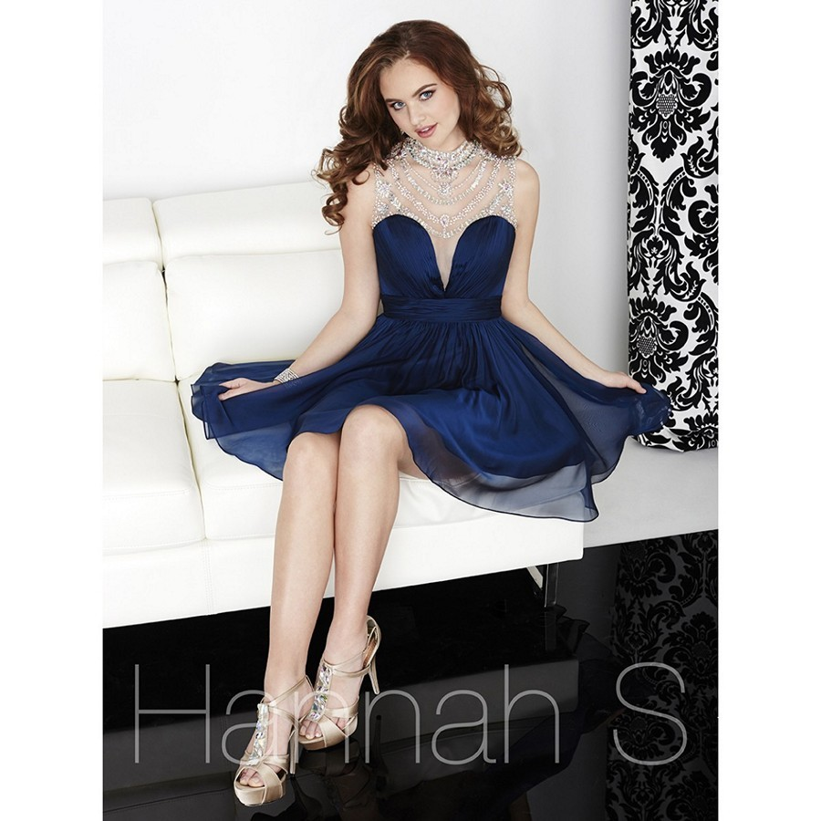 Tiffany Homecoming 27059 Plunging Sweetheart Bodice Dress
